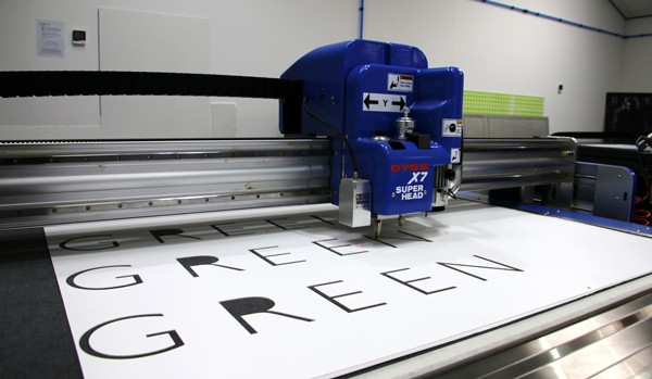 Cutting letters on DYSS X7