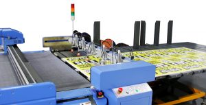 DYSS Digital Cutters can be supplied with an optional automatic sheet feeder