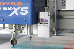 X5 with camera guided cutting